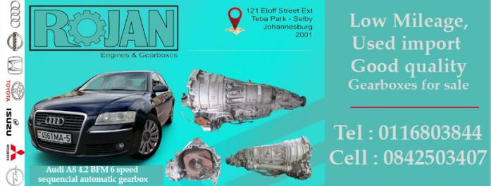 Audi A8 4.2 engines for sale in Johannesburg, Gauteng