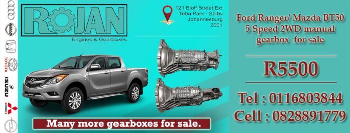 Mazda BT50 Gearbox for sale in Alberton, Gauteng
