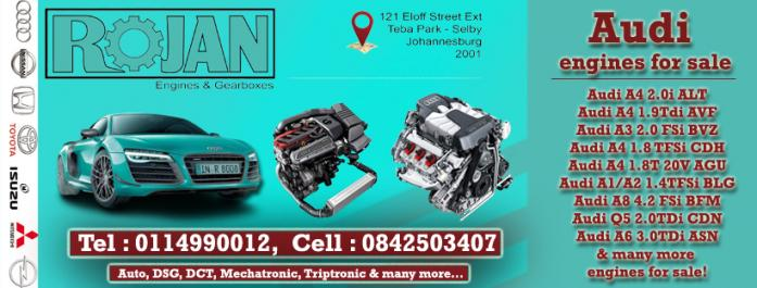 Import Used Audi engines for sale in Katlehong, Gauteng