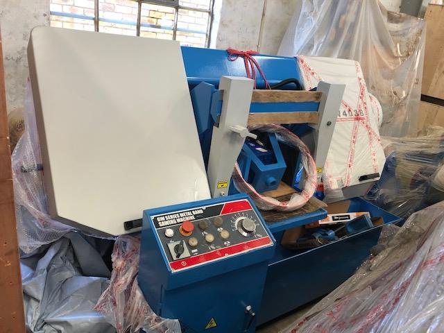 Saw, Horizontal Band Saw, Cap: 380mm Diameter, Hydraulic, Brand New in Germiston, Gauteng