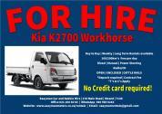 Kia K2700 for rent