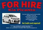 Kia Picanto For Rent
