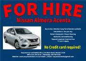 Nissan Almera Auto for rent