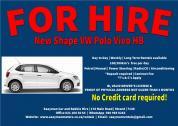 VW Polo Vivo for rent