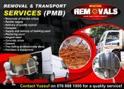 Deliveries  Transport and Removals