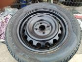 Steelies for sale with Dunlop tyres 195 60 15