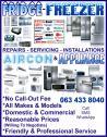 Friendly & Professional Fridge / Freezer, Aircon & Appliance Repairs
