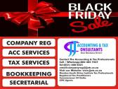 BLACK FRIDAY SALE FOR NOVEMBER 2021 - CO REG, INCOME TAX, SHELF / VAT SHELF CO