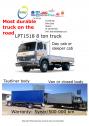 TATA LPT1518 - 8 ton truck